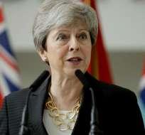REINO UNIDO.- Theresa May respaldó a Sir Kim Darroch luego de las declaraciones que diera sobre el gobierno de Trump. Foto: AFP