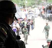 Primera etapa terminó con 33 detenidos y el control territorial de la Policía. Foto: Ministerio Interior