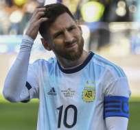 Casemiro, Arthur y Thiago Silva se refirieron a los dichos del argentino sobre la copa. Foto: Nelson ALMEIDA / AFP