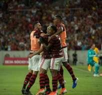 El equipo brasileño contrató al defensa español Pablo Marí. Foto: Tomada de @Flamengo