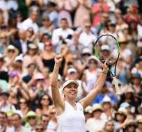 Ambas tenistas vencieron con comodidad en las semifinales del torneo. Foto: DANIEL LEAL-OLIVAS / AFP
