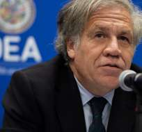 """WASHINGTON, EEUU.- El secretario general de la OEA considera """"ilegítimo y criminal"""" el gobierno de Maduro. Foto: AFP"""