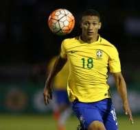 Anotó un gol en la Copa América.