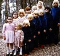 """Entre 14 y 28 niños estuvieron cautivos en la propiedad rural de """"La Familia""""."""