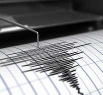 Este temblor no generó una alerta de tsunami.