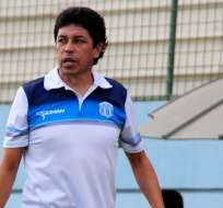 Paúl Vélez, entrenador de Macará.
