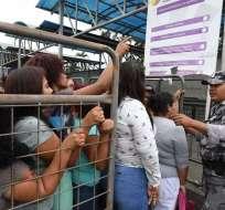 GUAYAQUIL, Ecuador.- Durante los primeros 60 días de vigencia, se registraron 12 internos fallecidos. Foto: Archivo