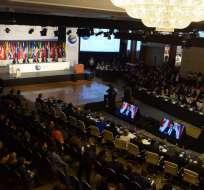 Asamblea de gobernadores del BID arrancó esta tarde en Guayaquil. Foto: API