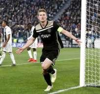Matthijs DeLigt, es nuevo jugador de la Juventus.
