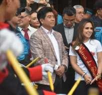 Daniela del Carmen Almeida, de 21 años, es la Reina de Quito 2018-2019. Foto: Reina de Quito/Facebook