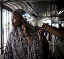 Advertencia se da tras primer caso en ciudad fronteriza del este de República del Congo. Foto: AFP