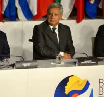 El ministro Richard Martínez preside las reuniones en el BID. Foto: API