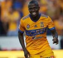 Enner Valencia, delantero ecuatoriano.