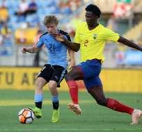 Jackson Porozo, defensa que resaltó en el pasado Sudamericano sub 20.