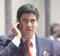 Jaime Estrada, vicepresidente de la FEF.