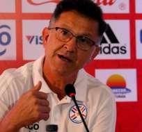 Juan Carlos Osorio, en su paso por Paraguay.