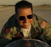 """El actor regresa en el papel de Pete """"Maverick"""" Mitchell. Foto: Captura del video"""