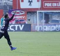Juan José Govea anotó de tiro libre a los 93 minutos para decretar el 2-2 final. Foto: API