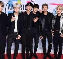 BTS entre los 25 más influyentes según la revista Time. Foto: AP - Archivo