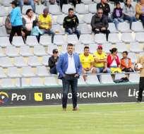 El entrenador de Barcelona aseguró que debe esperar su oportunidad. Foto: Archivo
