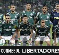 Palmeiras disputará los octavos de final de la Libertadores.