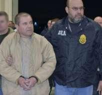 """""""El Chapo"""" ya ingresó en la prisión federal de más alta seguridad de Estados Unidos."""