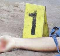 Hallan cuerpo descuartizado de mujer en Guayaquil. Foto: Referencial - Archivo