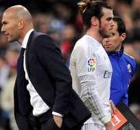 Zidane y Bale en el Real Madrid.
