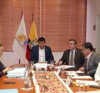 QUITO, Ecuador.- La Comisión de Fiscalización procesa, de forma unificada, dos solicitudes aprobadas por el CAL. Foto: Cortesía