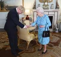 Johnson prometió que logrará sacar a Reino Unido de la UE hasta el 31 de octubre.Foto: AP