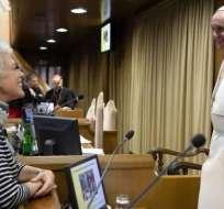Papa designa a vocera para aumentar mujeres en Vaticano. Foto: AFP