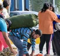 Ecuador perdonará multas a venezolanos en situación irregular. Foto: AFP - Referencial