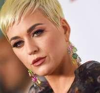 """EEUU.- La cantante Katy Perry copió el ritmo de su éxito de 2013 """"Dark Horse"""" de una canción cristiana de rap. Foto: AFP"""