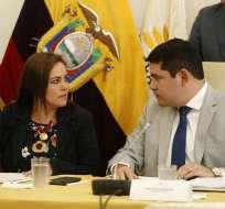 Presidente del CPCCS y consejeros acudieron a Asamblea por trámite de juicio político. Foto: API