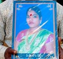 INDIA.- Thota Vennela, de 18 años, fue una de las jóvenes que se quitó la vida tras reprobar su examen.