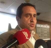 QUITO.- El legislador Homero Castanier dijo que una norma similar a la del 2016 podría ser la vía. Foto: @LorenaEspinosa8