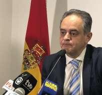 Claudio Peñaherrera, presidente de Deportivo Cuenca. Foto: @andresmunoza