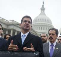Pedro Pierluisi, del Partido Nuevo Progresista (PNP), fungirá como gobernador interino. Foto: AFP