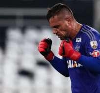 Diego Alves, figura del Flamengo.