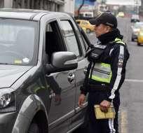 La medida responde a un plan de repavimentación en varios sectores de la capital. Foto: AMT Quito