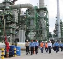 Esta planta volvería a refinar 110 mil barriles de crudo diarios.
