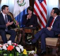 Negociación se da tras acuerdo logrado con Guatemala. Foto: AFP