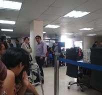 QUITO, Ecuador.- Los servidores desvinculados eran de áreas operativas y de jerárquico superior. Foto: Cortesía