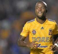 Enner Valencia, jugador de Tigres de México.