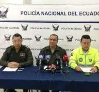"""En la operación """"Mega Hermes 5"""" se detuvieron a 30 personas. Foto: Twitter/Policía Nacional"""