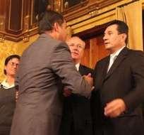 El exfuncionario es requerido por la justicia ecuatoriana por el secuestro de Fernando Balda. Foto: archivo