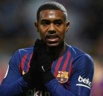 Malcom en su paso por el FC Barcelona.