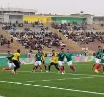 Partido de la Sub-23 ante México. Foto: Comité Olímpico Ecuatoriano.