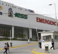 GUAYAQUIL, Ecuador.- Miriam Lastra permanece en el hospital del IESS de Los Ceibos con resguardo policial. Foto: Archivo