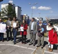 QUITO, Ecuador.- Según sus integrantes, los mails confirmarían injerencia en la justicia y persecución. Foto: API
